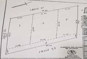 Foto de terreno comercial en venta en  , san ramon norte i, mérida, yucatán, 18575732 No. 01
