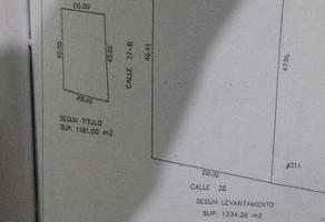 Foto de terreno habitacional en venta en  , san ramon norte, mérida, yucatán, 11703647 No. 01