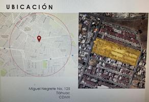 Foto de terreno habitacional en venta en  , santa ana centro, tláhuac, df / cdmx, 0 No. 01