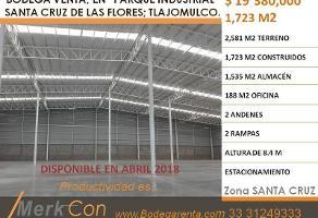 Foto de nave industrial en venta en  , santa cruz de las flores, tlajomulco de zúñiga, jalisco, 6711250 No. 01
