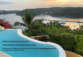Foto de casa en renta en  , santa cruz sector a, santa maría huatulco, oaxaca, 0 No. 01