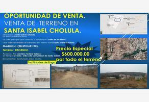 Foto de terreno habitacional en venta en  , santa isabel cholula, santa isabel cholula, puebla, 0 No. 01