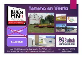 Foto de terreno habitacional en venta en  , santa rosa, ixtlahuac?n de los membrillos, jalisco, 6494928 No. 01