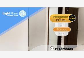 Foto de departamento en venta en  , santiago centro, tláhuac, df / cdmx, 9707515 No. 01