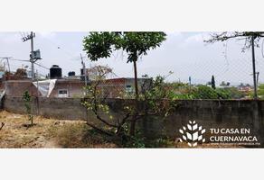 Foto de terreno habitacional en venta en  , satélite, cuernavaca, morelos, 17818848 No. 01