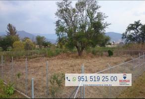 Foto de terreno habitacional en venta en ser. camino del cura , santa maria del tule, santa maría del tule, oaxaca, 6039340 No. 01