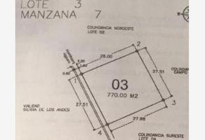 Foto de terreno habitacional en venta en sierra de los andes , fraccionamiento lagos, torreón, coahuila de zaragoza, 12560105 No. 01