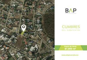 Foto de terreno habitacional en venta en sierra madre -, cumbres del campestre, león, guanajuato, 0 No. 01