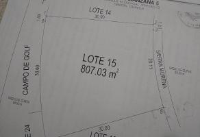 Foto de terreno habitacional en venta en sierra morena 15, montebello, torreón, coahuila de zaragoza, 12253196 No. 01