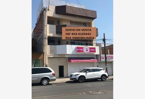 Foto de edificio en venta en siervo de la nacion 001, lomas del valle infonavit, morelia, michoacán de ocampo, 14401348 No. 01