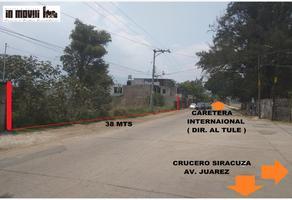 Foto de terreno comercial en venta en siracuza 10, nueva santa lucia, santa lucía del camino, oaxaca, 0 No. 01