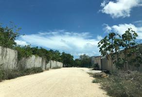 Foto de terreno habitacional en venta en sm 313, calle ahuehuetes -, álamos i, benito juárez, quintana roo, 8641691 No. 01