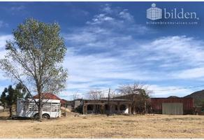 Foto de rancho en venta en sn 1, residencial casa blanca, durango, durango, 0 No. 01