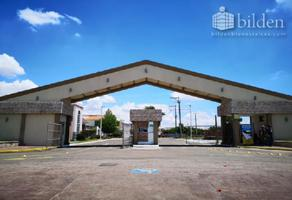 Foto de terreno habitacional en venta en sn 1, residencial villa dorada, durango, durango, 11145018 No. 01