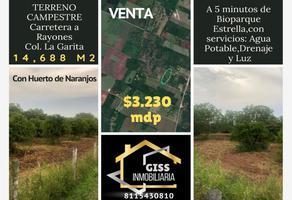 Foto de terreno habitacional en venta en s/n , anita, montemorelos, nuevo león, 15985854 No. 01
