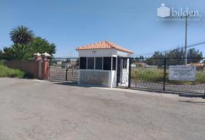 Foto de terreno habitacional en venta en sn , campestre martinica, durango, durango, 17713733 No. 01