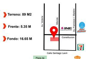 Foto de terreno comercial en venta en s/n , central, gómez palacio, durango, 9865514 No. 01