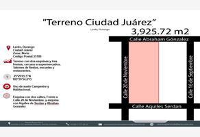 Foto de terreno habitacional en venta en s/n , ciudad juárez, lerdo, durango, 5572686 No. 01