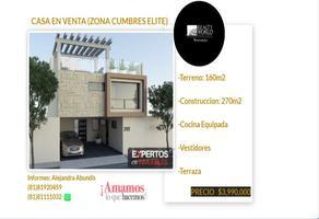Foto de casa en venta en s/n , cumbres elite 8vo sector, monterrey, nuevo león, 19446091 No. 01