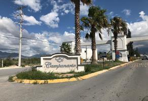 Foto de terreno habitacional en venta en sn , el campanario, saltillo, coahuila de zaragoza, 20155491 No. 01
