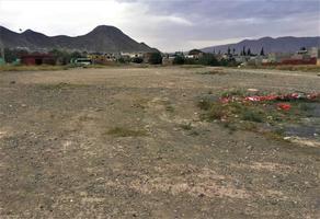 Foto de terreno habitacional en venta en s/n , gonzález norte, saltillo, coahuila de zaragoza, 14963185 No. 01