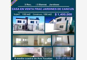 Foto de casa en venta en sn , jardines de cancún, durango, durango, 10338063 No. 01