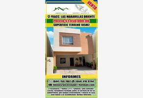 Foto de casa en venta en s/n , las maravillas, saltillo, coahuila de zaragoza, 13653218 No. 01