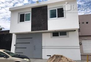 Foto de casa en renta en s/n , los alamitos, durango, durango, 12774419 No. 01