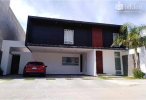 Foto de casa en venta en sn , los cedros residencial, durango, durango, 17623531 No. 01