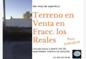 Foto de terreno habitacional en venta en s/n , los reales, saltillo, coahuila de zaragoza, 0 No. 01