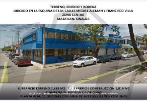 Foto de edificio en venta en s/n , miguel hidalgo, mazatlán, sinaloa, 8972596 No. 01