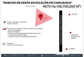 Foto de terreno habitacional en venta en s/n , pablo gómez, chihuahua, chihuahua, 18186638 No. 01