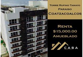 Foto de departamento en renta en sn , paraíso coatzacoalcos, coatzacoalcos, veracruz de ignacio de la llave, 18897973 No. 01