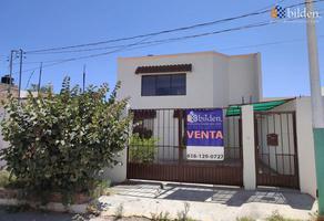 Foto de casa en venta en s/n , paseo del saltito, durango, durango, 11673366 No. 01