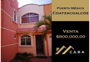 Foto de casa en venta en sn , puerto méxico, coatzacoalcos, veracruz de ignacio de la llave, 18869953 No. 01