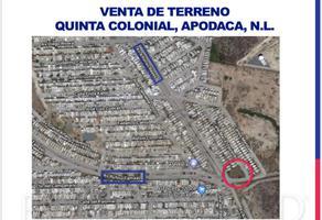 Foto de terreno habitacional en venta en s/n , quinta colonial apodaca 1 sector, apodaca, nuevo león, 18187706 No. 01