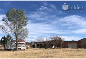 Foto de rancho en venta en s/n , residencial casa blanca, durango, durango, 10192715 No. 01