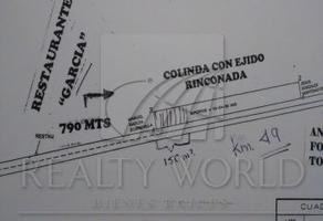 Foto de terreno comercial en venta en s/n , rinconada, garcía, nuevo león, 5867136 No. 01