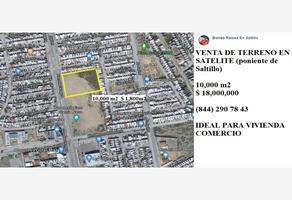 Foto de terreno habitacional en venta en s/n , saltillo 2000, saltillo, coahuila de zaragoza, 0 No. 01