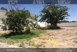 Foto de terreno habitacional en venta en s/n , san armando, torreón, coahuila de zaragoza, 16049794 No. 01