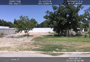 Foto de terreno habitacional en venta en s/n , san armando, torreón, coahuila de zaragoza, 16050144 No. 01