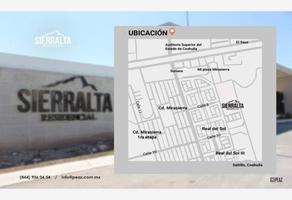 Foto de terreno habitacional en venta en sn , sierra blanca, saltillo, coahuila de zaragoza, 20155579 No. 01