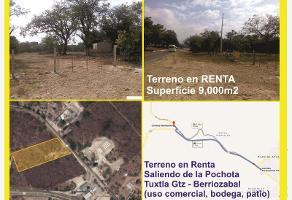 Foto de terreno habitacional en renta en s/n , tuxtla gutiérrez centro, tuxtla gutiérrez, chiapas, 9262177 No. 01