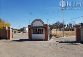 Foto de terreno habitacional en venta en s/n , campestre martinica, durango, durango, 14897519 No. 01