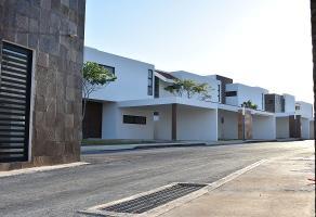 Foto de casa en condominio en venta en s/n , conkal, conkal, yucatán, 10271857 No. 01