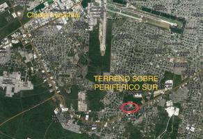 Foto de terreno habitacional en venta en sobre periferico , san antonio xluch iii, mérida, yucatán, 19186274 No. 01