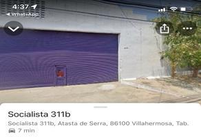Foto de nave industrial en renta en socialista 311-b , atasta, centro, tabasco, 14696374 No. 01