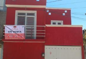 Foto de casa en venta en  , solidaridad, morelia, michoacán de ocampo, 14184668 No. 01