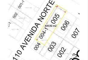 Foto de terreno habitacional en venta en  , solidaridad, solidaridad, quintana roo, 11229064 No. 01