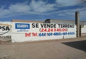 Foto de terreno habitacional en venta en sufragio efectivo #338 , ciudad obregón centro (fundo legal), cajeme, sonora, 7521993 No. 01